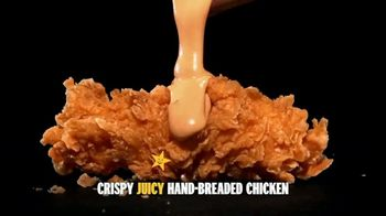 Hardee's Hand-Breaded Chicken Tenders TV Spot, 'Smothering'