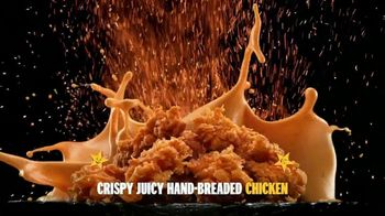 Hardee's Hand-Breaded Chicken Tenders TV Spot, 'Smothering' - Thumbnail 3