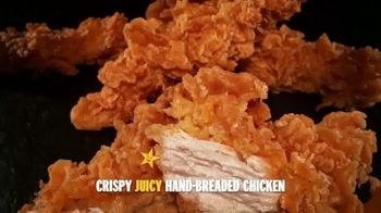 Hardee's Hand-Breaded Chicken Tenders TV Spot, 'Smothering' - Thumbnail 4