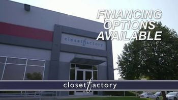 Closet Factory TV Spot, 'Don't Agonize, Organize Instead' - Thumbnail 10