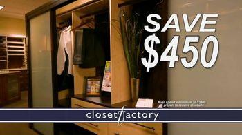 Closet Factory TV Spot, 'Don't Agonize, Organize Instead' - Thumbnail 4