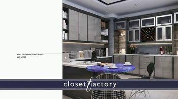 Closet Factory TV Spot, 'Don't Agonize, Organize Instead' - Thumbnail 6