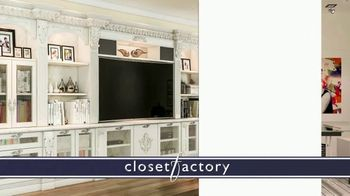 Closet Factory TV Spot, 'Don't Agonize, Organize Instead' - Thumbnail 7