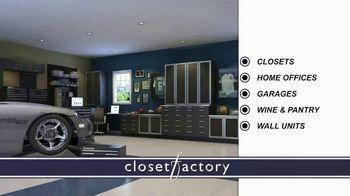 Closet Factory TV Spot, 'Don't Agonize, Organize Instead' - Thumbnail 8