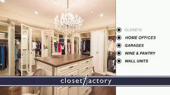 Closet Factory TV Spot, 'Don't Agonize, Organize Instead' - Thumbnail 9