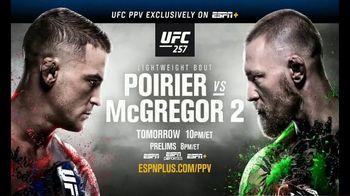 ESPN+ TV Spot, 'UFC 257: Poirier vs. McGregor 2' Song by Eminem - Thumbnail 8
