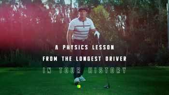 Cobra Golf RADSPEED Driver TV Spot, 'A Physics Lesson' Featuring Bryson DeChambeau