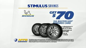 National Tire & Battery Stimulus Savings Event TV Spot, 'Mail-in Rebate: Michelin' - Thumbnail 3