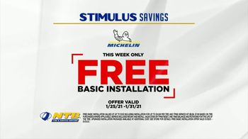 National Tire & Battery Stimulus Savings Event TV Spot, 'Mail-in Rebate: Michelin' - Thumbnail 4