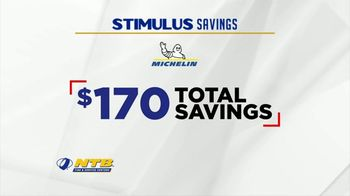 National Tire & Battery Stimulus Savings Event TV Spot, 'Mail-in Rebate: Michelin' - Thumbnail 5