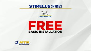 National Tire & Battery Stimulus Savings Event TV Spot, 'Mail-in Rebate: Michelin' - Thumbnail 6