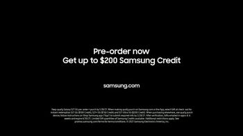 Samsung Mobile S21 Ultra 5G TV Spot, 'Introducing: Pre-Order and $200 Credit' - Thumbnail 8
