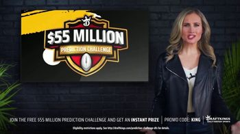 DraftKings $55 Million Prediction Challenge TV Spot, 'Skin In the Game'