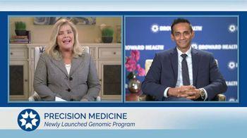 Broward Health TV Spot, 'Staying Healthy: Genomic Program' - Thumbnail 2