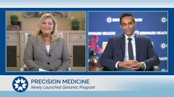 Broward Health TV Spot, 'Staying Healthy: Genomic Program' - Thumbnail 3