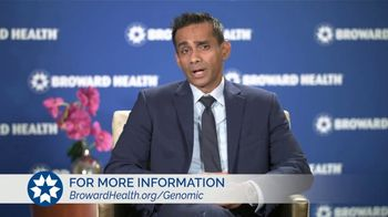 Broward Health TV Spot, 'Staying Healthy: Genomic Program' - Thumbnail 8