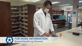 Broward Health TV Spot, 'Staying Healthy: Genomic Program'