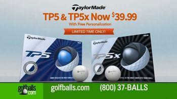 Golfballs.com TV Spot, 'Customization: TP5 and TP5x'