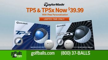 Golfballs.com TV Spot, 'Customization: TP5 and TP5x'