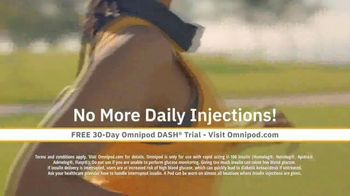 Omnipod DASH TV Spot, 'Game Changing: 30-Day Trial' - Thumbnail 7