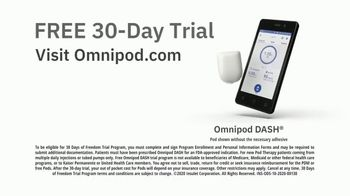 Omnipod DASH TV Spot, 'Game Changing: 30-Day Trial' - Thumbnail 8