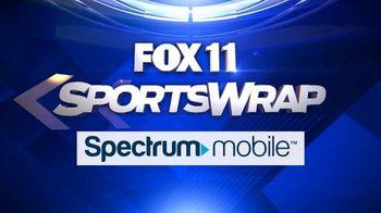 Spectrum Mobile TV Spot, 'Fox 11: SportsWrap' - Thumbnail 3