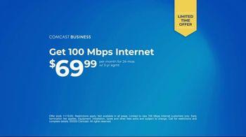 Comcast Business TV Spot, 'Shift, Pivot, Adapt: Internet: $69.99' - Thumbnail 7