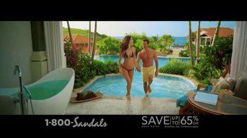 Sandals Grenada TV Spot, 'The Sandals of Tomorrow: 65 Percent Off' - Thumbnail 4