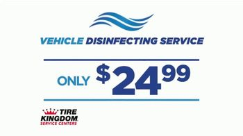 Tire Kingdom Big October TV Spot, 'Instant Savings, Continental Tires and Disinfecting Service' - Thumbnail 4