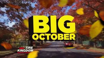Tire Kingdom Big October TV Spot, 'Instant Savings, Continental Tires and Disinfecting Service' - Thumbnail 1