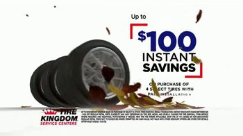Tire Kingdom Big October TV Spot, 'Instant Savings, Continental Tires and Disinfecting Service' - Thumbnail 2