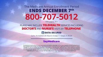 SayMedicare Helpline TV Spot, 'Medicare Annual Enrollment Period: Don't Delay' - Thumbnail 10