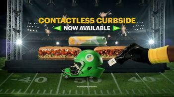 Subway TV Spot, \'Footlong Season: Contactless Curbside Pickup\'