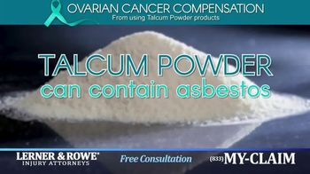 Lerner and Rowe Injury Attorneys TV Spot, 'Talcum Powder Products' - Thumbnail 2