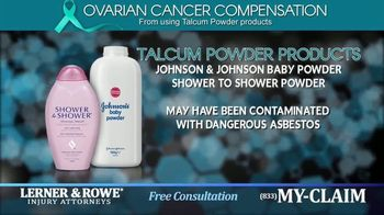 Lerner and Rowe Injury Attorneys TV Spot, 'Talcum Powder Products'