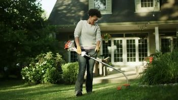 STIHL TV Spot, \'PBS: Family Yard Work\'