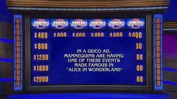 GEICO TV Spot, 'Jeopardy: Halloween: Tea Party' - Thumbnail 1