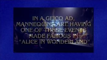 GEICO TV Spot, 'Jeopardy: Halloween: Tea Party' - Thumbnail 2