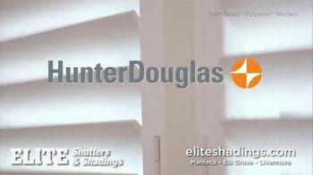 Hunter Douglas Elite Shutters & Shadings TV Spot, 'Enjoying Your Life' - Thumbnail 4