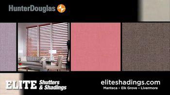 Hunter Douglas Elite Shutters & Shadings TV Spot, 'Enjoying Your Life' - Thumbnail 6