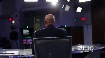 Ohio University TV Spot, 'Broadcast Journalism' Featuring Roosevelt Leftwich - Thumbnail 7
