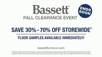 Bassett Fall Clearance Event TV Spot, 'Move Out the Old' - Thumbnail 5