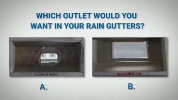 The SpoutOff TV Spot, 'Optimize Your Rain Gutter System'