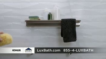 Kohler Luxstone Shower TV Spot, 'Drab to Fab: $1,000 Off' - Thumbnail 6