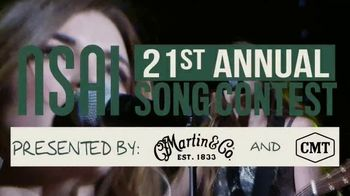 NSAI 21st Annual Song Contest TV Spot, 'CMT: Send Your Best Songs' Feat. Tenille Townes - 59 commercial airings