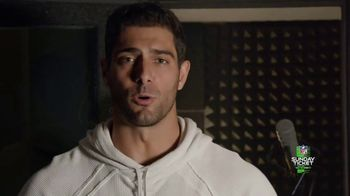DIRECTV NFL Sunday Ticket TV Spot, 'Week Seven' Featuring Jimmy Garoppolo - Thumbnail 2