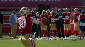 DIRECTV NFL Sunday Ticket TV Spot, 'Week Seven' Featuring Jimmy Garoppolo - Thumbnail 5