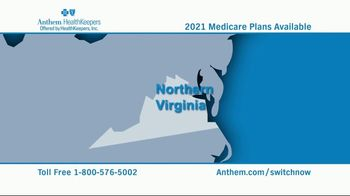 Anthem Blue Cross and Blue Shield TV Spot, 'Northern Virginia: 2021 Medicare Plans' - Thumbnail 2
