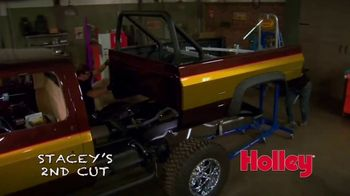 Holley Sniper EFI TV Spot, 'Stacey's Second Cut: Truck'