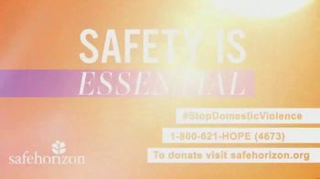Safe Horizon TV Spot, 'Safety Is Essential' - Thumbnail 5